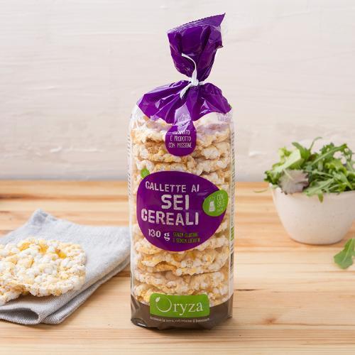 Gallette ai sei cereali BIO