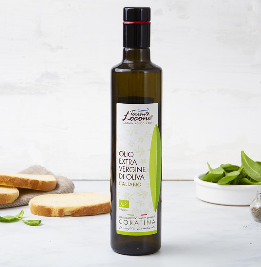 Olio extravergine di oliva 100% Coratina BIO