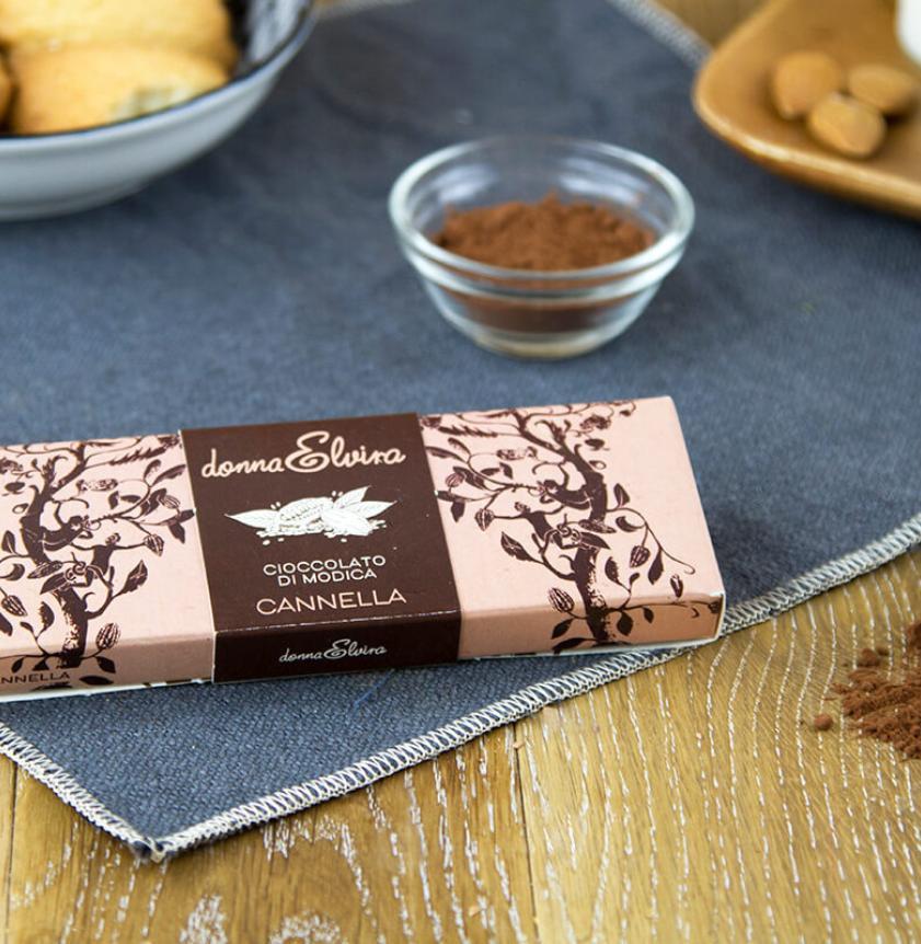Cioccolato di Modica con cannella