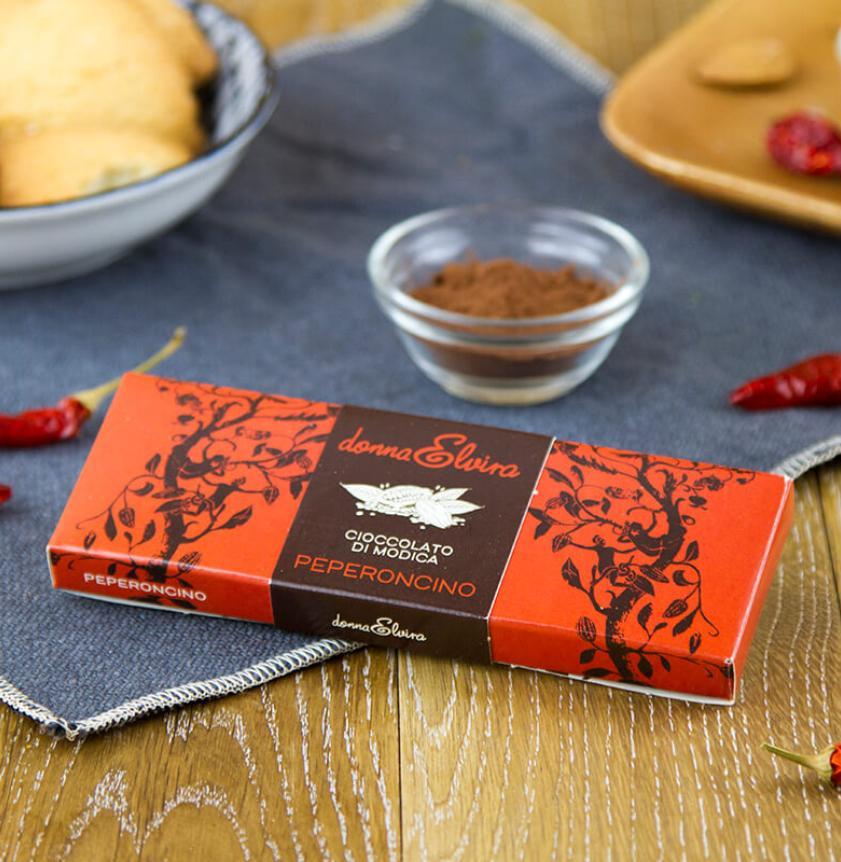 Cioccolato di Modica con peperoncino
