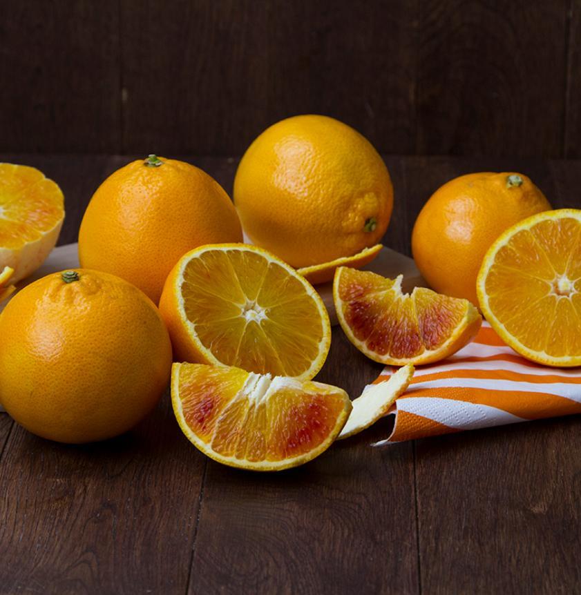 Box di arance tarocco BIO