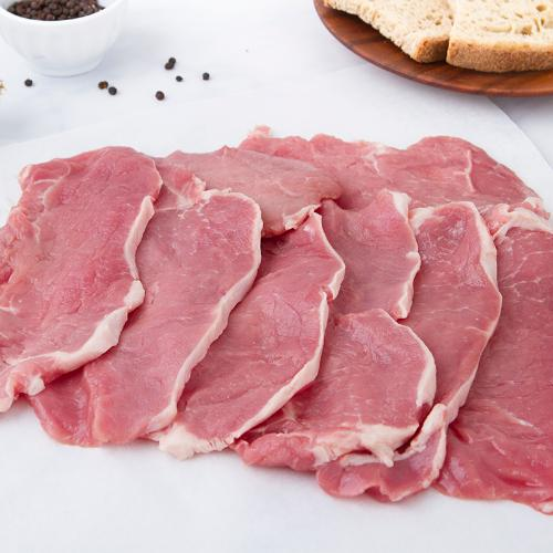 Lonza di maiale a fette