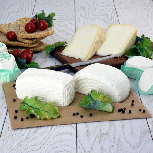 Box di formaggi di capra
