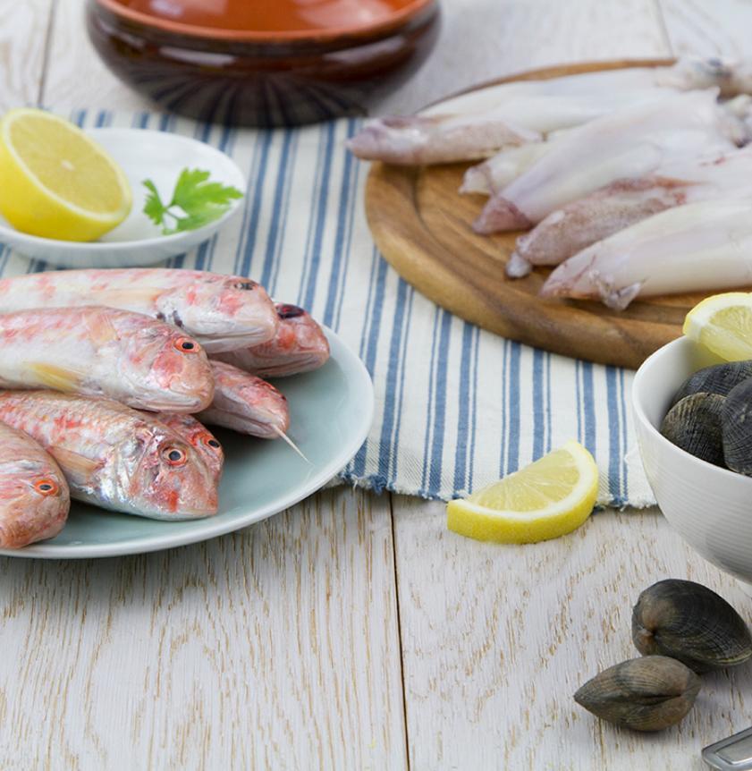 Mix per zuppa di pesce