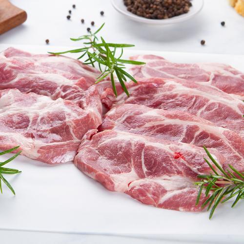 Coppa fresca di maiale a fette