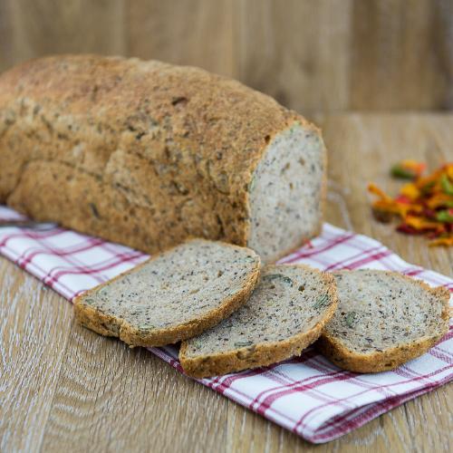 Pane di lievito madre ai 5 semi