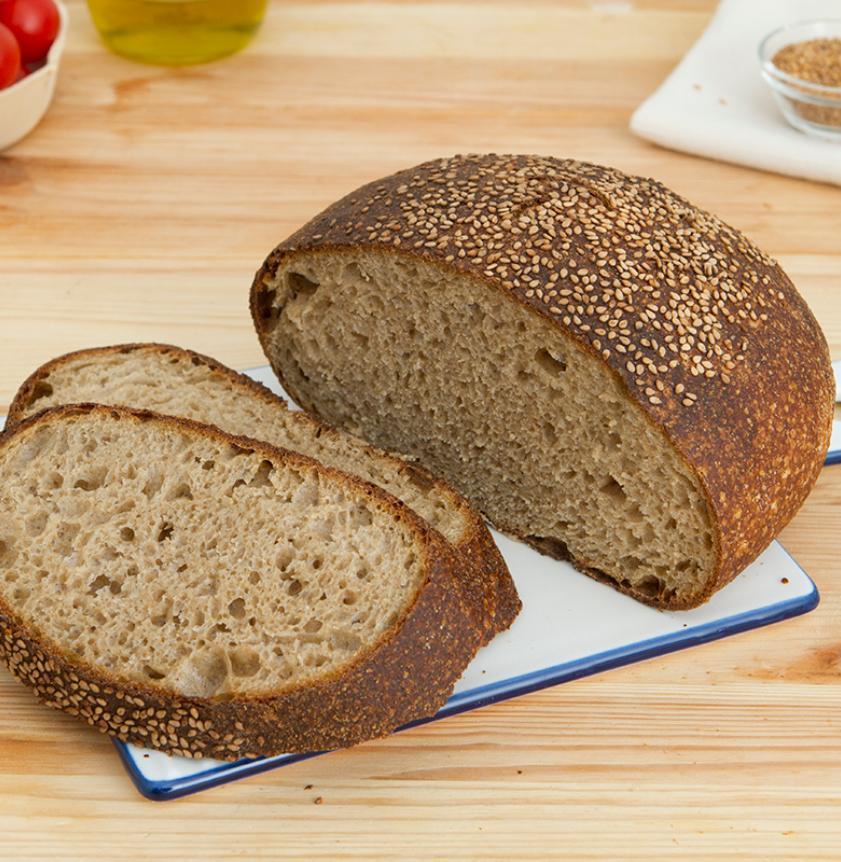 Pane di grani antichi siciliani lievito madre