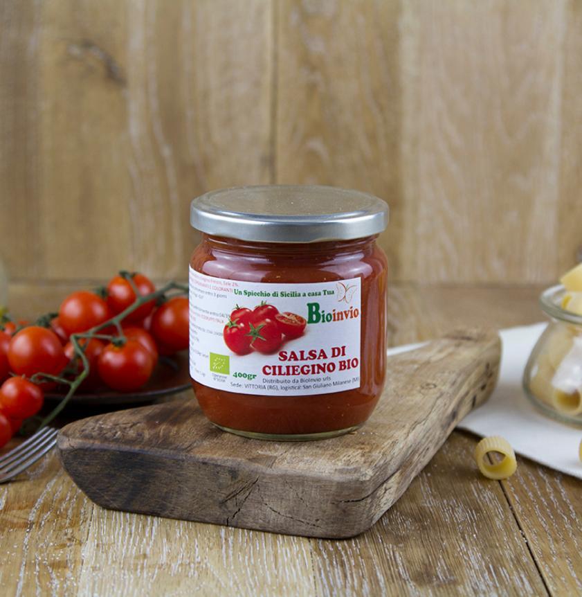 Salsa di pomodoro ciliegino BIO