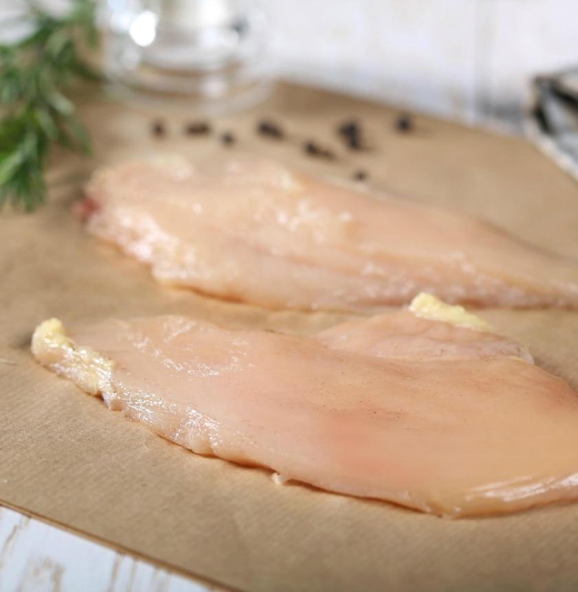 Petto di pollo a fette