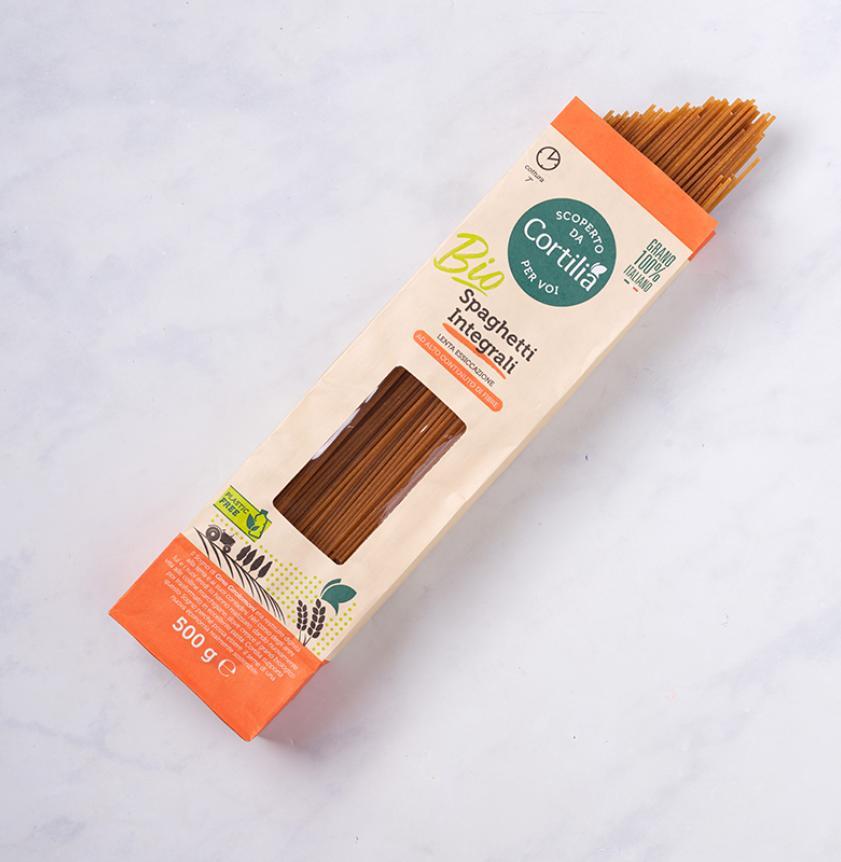 Spaghetti integrali di grano duro BIO