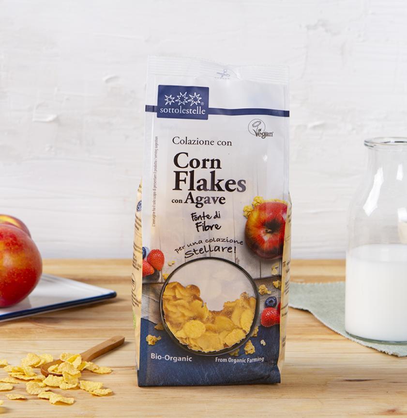 Corn Flakes con agave BIO