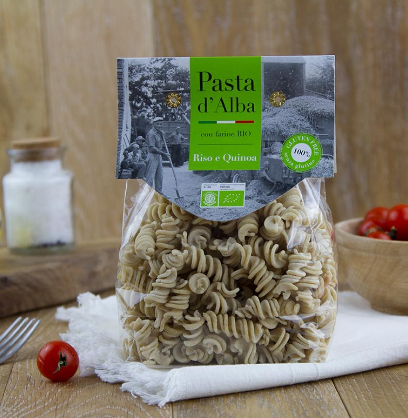 Fusilli di riso e quinoa senza glutine BIO