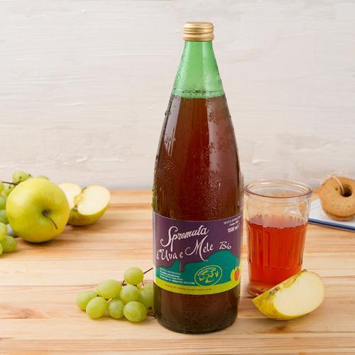 Spremuta di mele e uva BIO