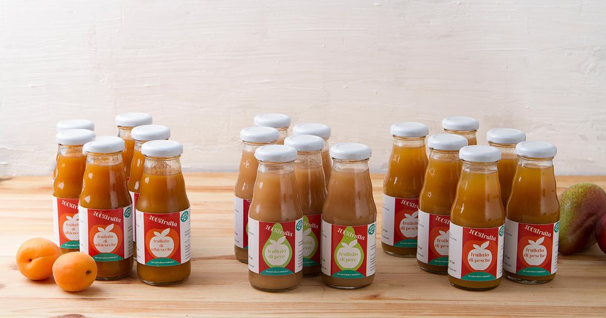 Acquistare mix di frullati 100 frutta bio online for Frutta online