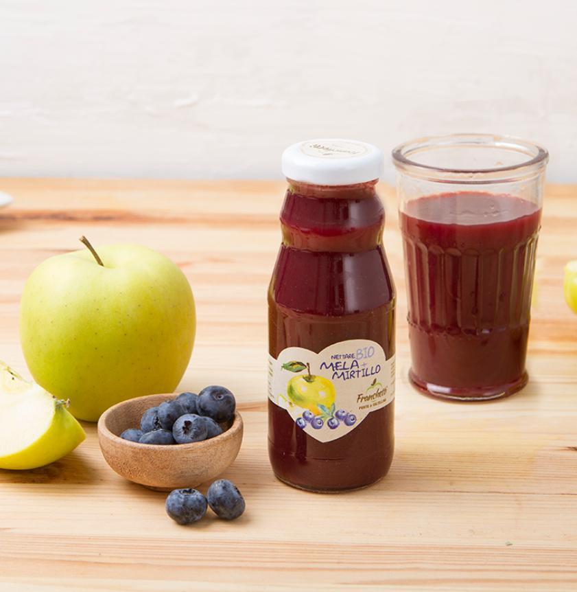 Nettare di mela e mirtillo BIO