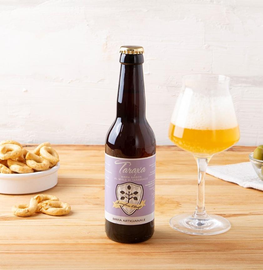 Birra saison al miele di tarassaco