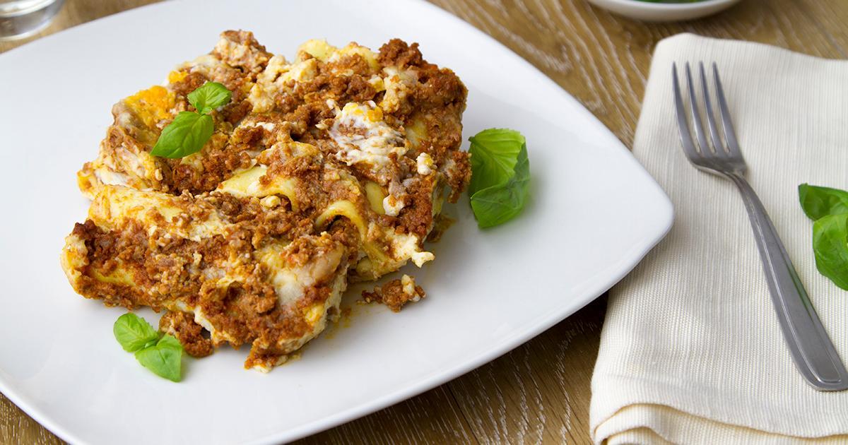 Acquistare cannelloni al ragu online - Forno microonde e tradizionale insieme ...