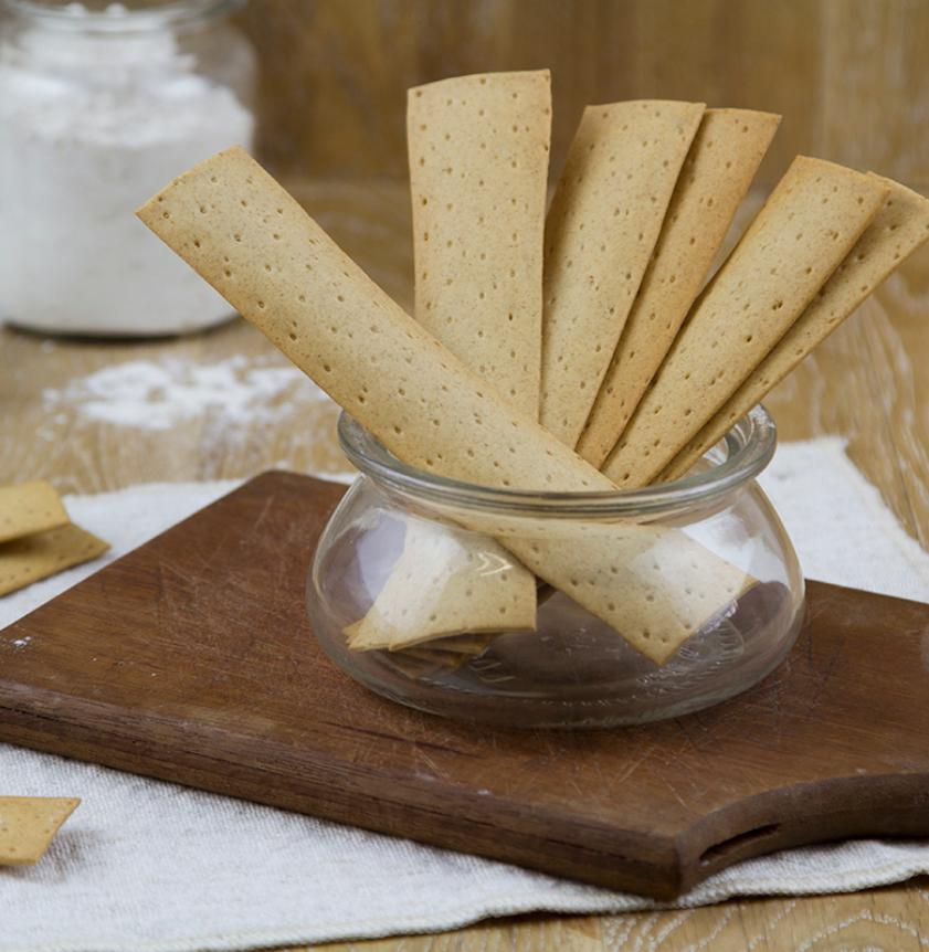Crackers di frumento di filiera