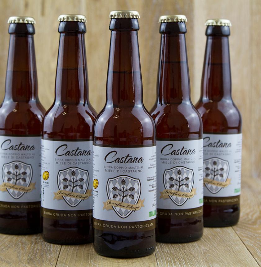 Birra doppio malto al miele di castagno