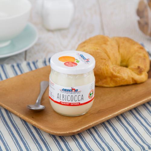 Yogurt intero all'albicocca