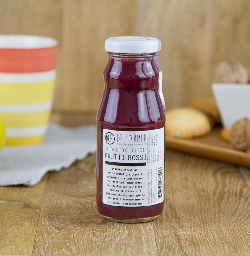 Juice Biodetox 100% Frutti rossi