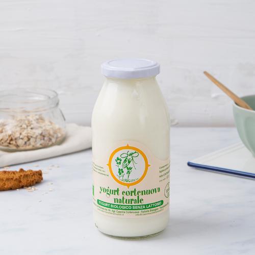 Yogurt intero al naturale senza lattosio BIO