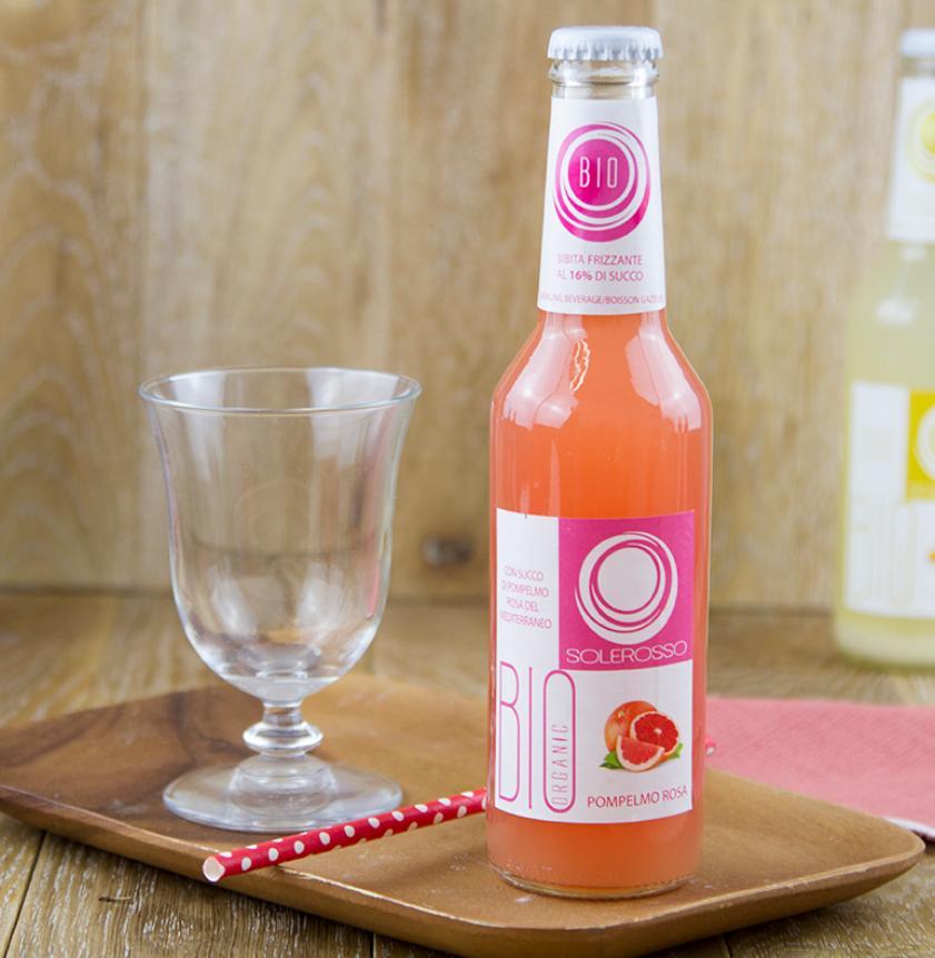 Bevanda al pompelmo rosa BIO