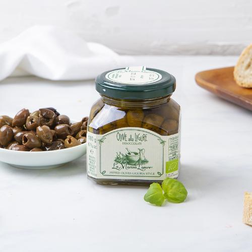 Olive alla ligure denocciolate BIO