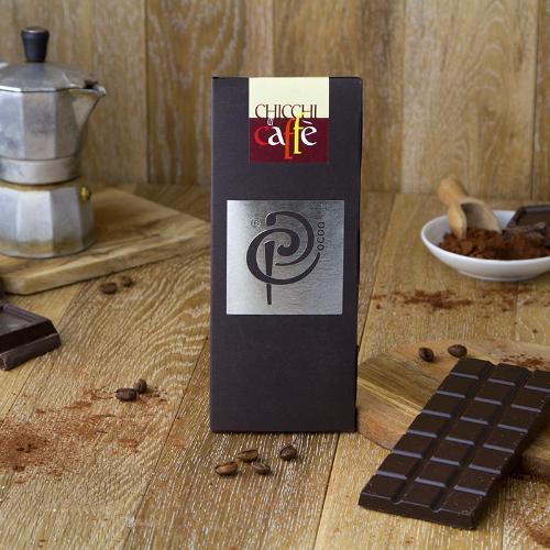 Cioccolato fondente 70% al caffè