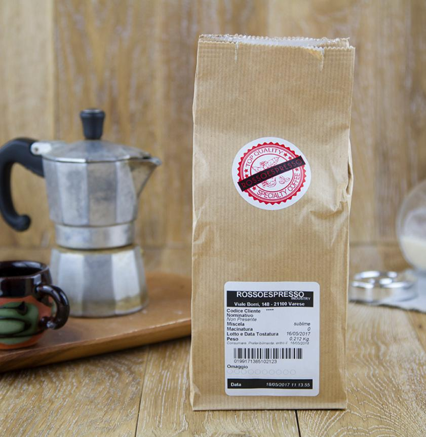 Caffè 100% Arabica macinato Moka