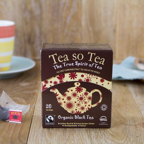 Tè nero in bustine BIO