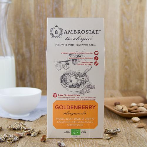 Granola con goldenberries BIO