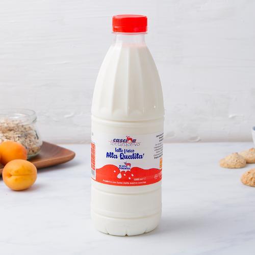 Latte fresco intero Alta Qualità Piemontese