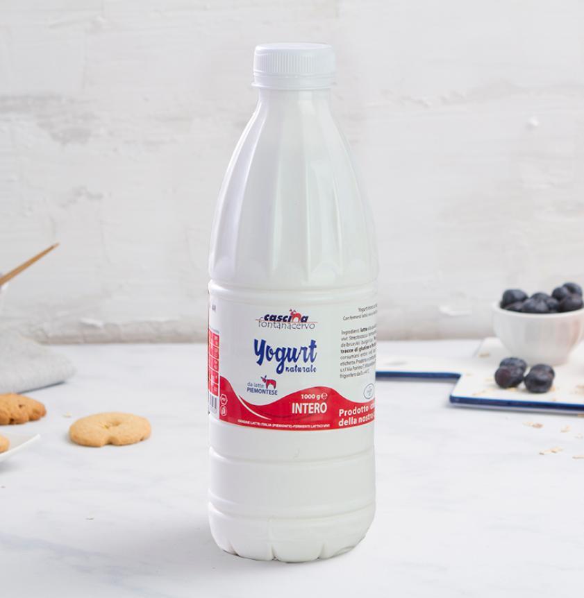 Yogurt intero al naturale