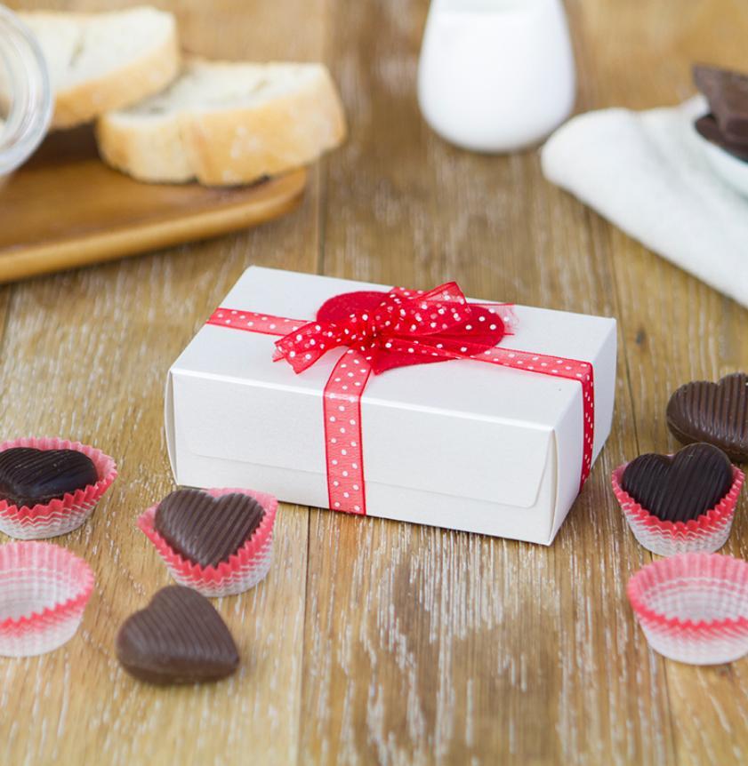 Cuoricini di cioccolato