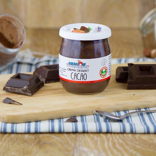 Crema dessert al cacao