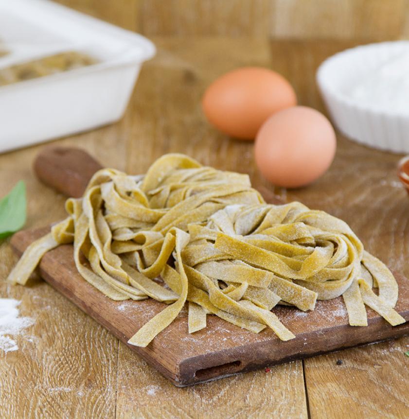 Tagliatelle all'uovo artigianali