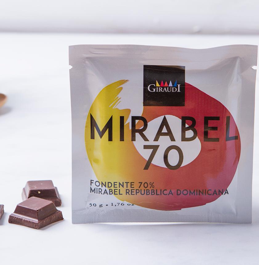 Cioccolato fondente 70% Mirabel