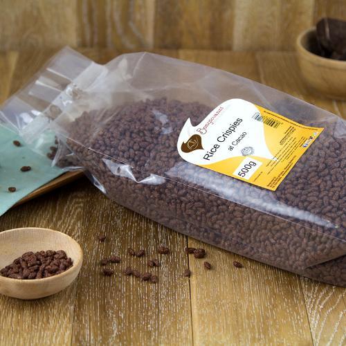 Rice crispies al cacao