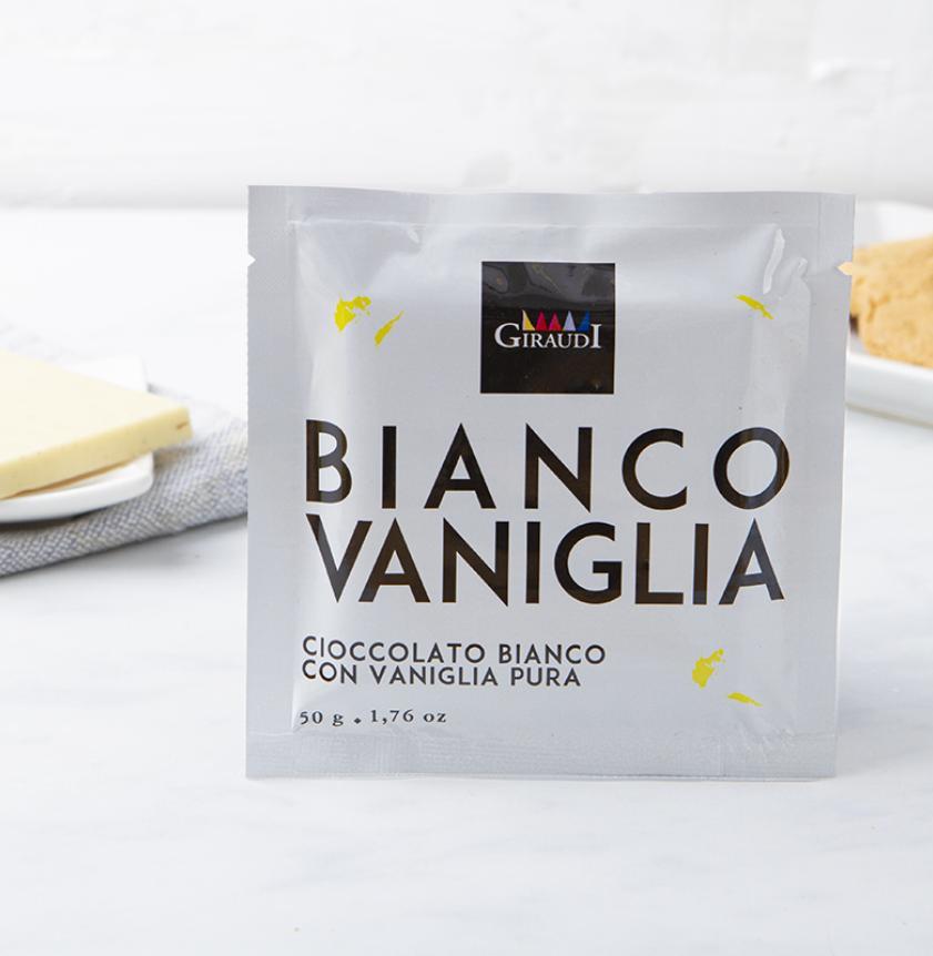 Cioccolato bianco con vaniglia