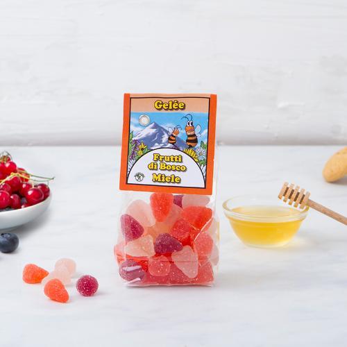 Gelèe di frutti di bosco e miele