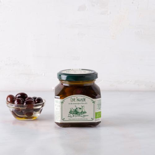 Olive taggiasche in olio BIO