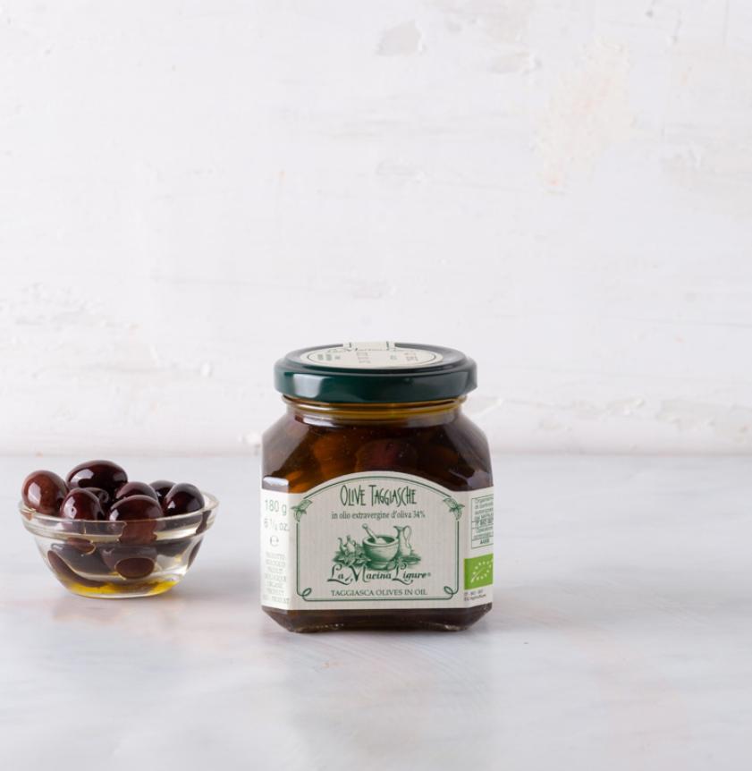 Olive taggiasche in extravergine BIO