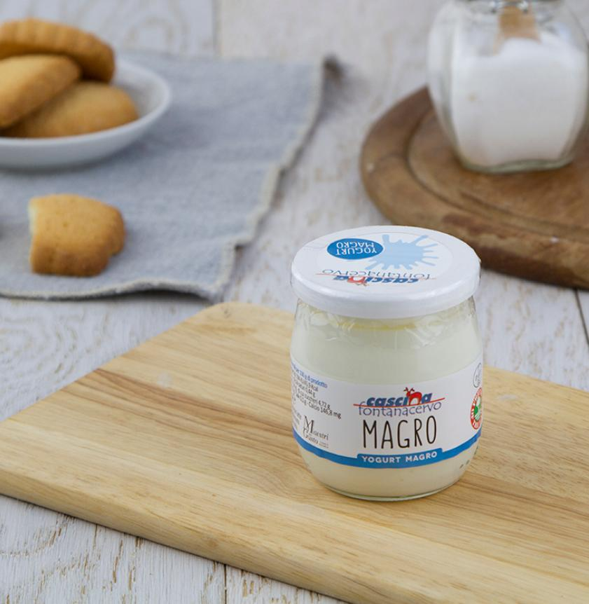 Yogurt magro al naturale