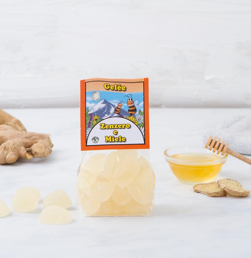 Gelèe di zenzero e miele