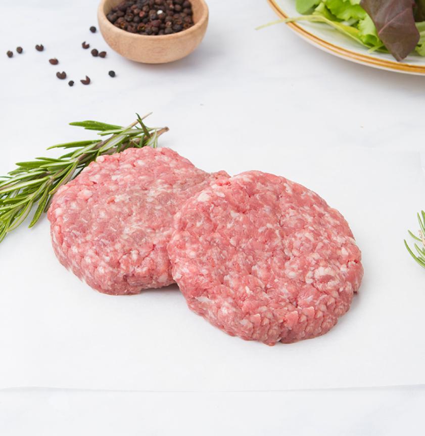2 Hamburger di fassona piemontese di filiera