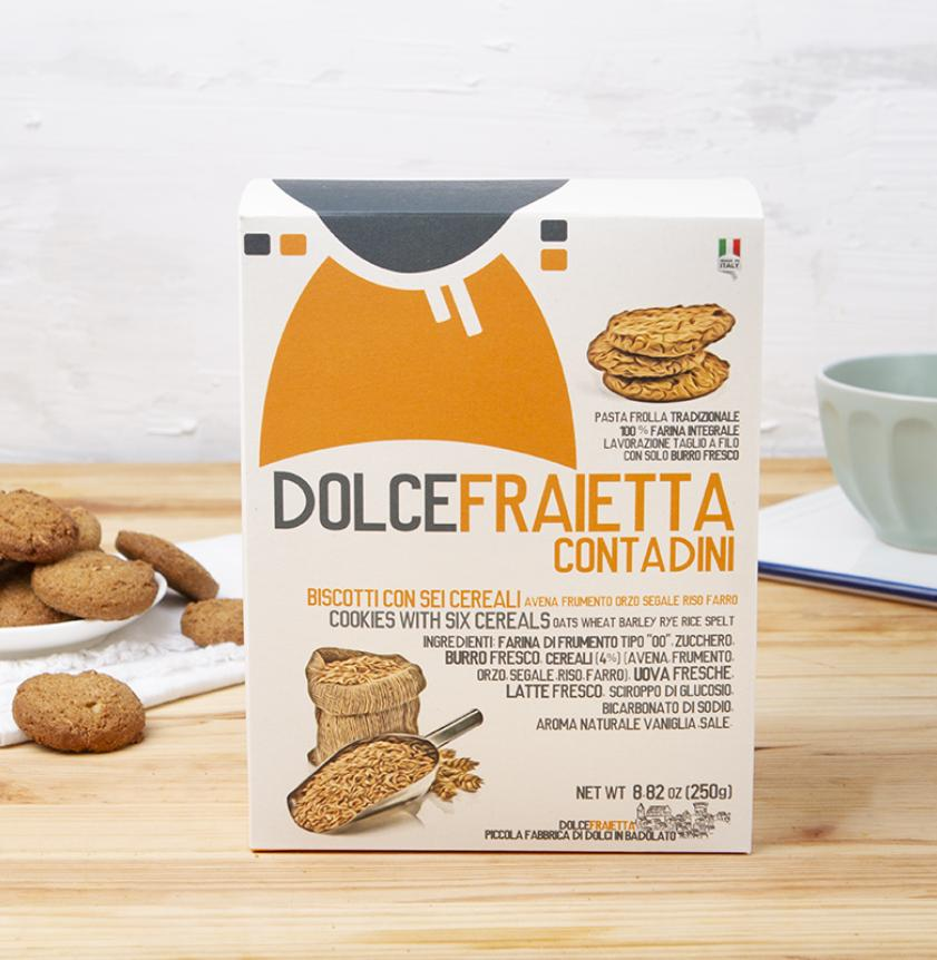 Biscotti ai sei cereali