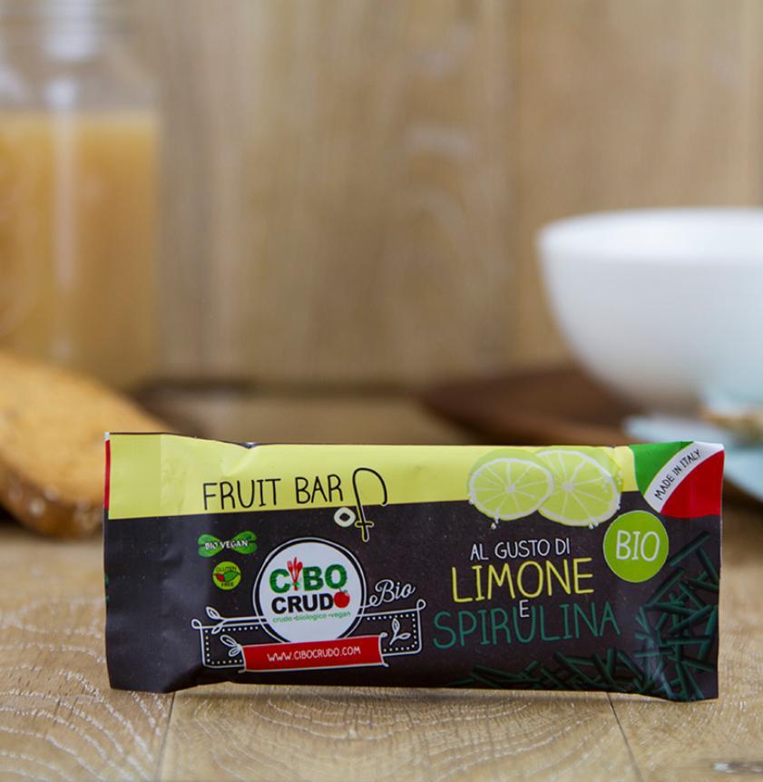 Barretta limone e spirulina BIO