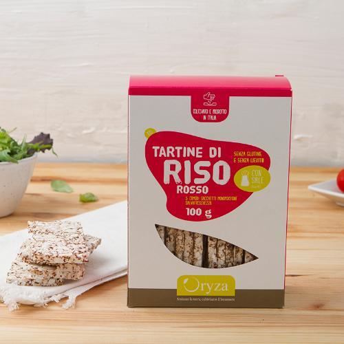 Gallette di riso rosso