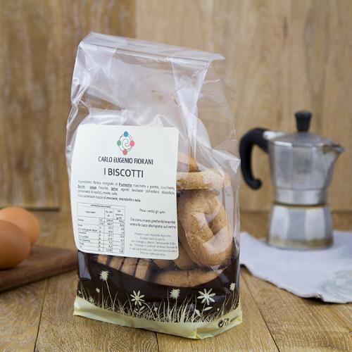 Biscotti per colazione rotondi